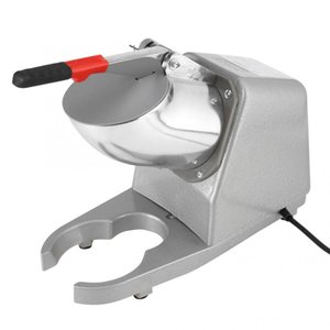 Ticari Ev Manuel Elektrikli Buz Kırıcı Tıraş Makinesi Makinesi Kar Koni Maker 110V