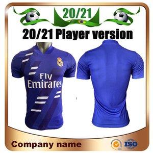 2020 Real Madrid Limited Edition фиолетового футбол Джерси 20/21 ОПАСНОСТЬ LUCAS V футбол рубашка RAMOS Бензем Модрич MARCELO Asensi ISCO Футбол Un