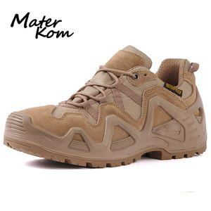 Size 39-44 Outdoor Men Waterproof Hiking Shoes Boots for Men Tactical Boots Desert Trekking Shoes buty trekkingowe