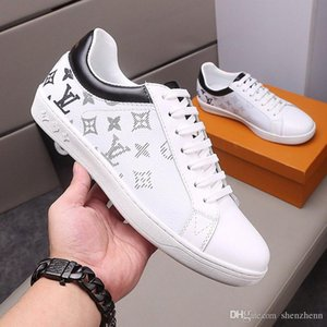 Louis Vuitton LV Chaussures de mode de luxe pour hommes Chaussures de course Flats Casual Tennis Comfort Trendy Lace-Up Top Qualité Luxembourg Sneaker Type de mode Chaussures