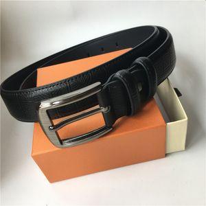 Haute qualité Hommes Ceintures véritable ceinture d'or d'argent noir Boucle ceinture Femmes Ceinture Ceintures Rouge Noir Marron