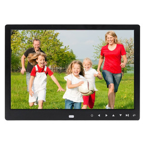 Цифровая фоторамка 12 дюймовый электронный цифровой фоторамка IPS дисплей с IPS LCD 1080P MP3 MP4 Видеоплеер