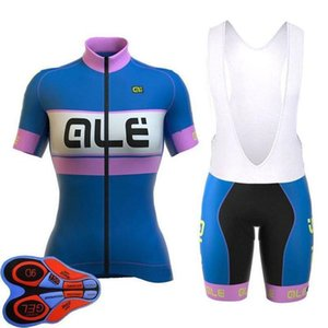 Best Ale New Woman \&#039 ;S Breathable Short Sleeve Cycling Sets Clothes Jerseys Bib Shorts Bike Ropa Ciclismo Bicycle Jersey