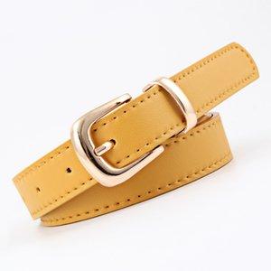 ZEBERY 105CM Long PU Leather Women's Belt Metal Buckle Simple Fashion Belt For Women's Clothing Accessories