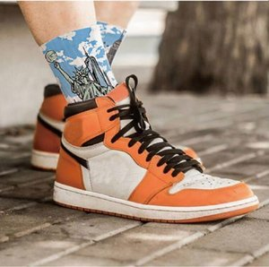 2020 migliore qualità 1 1s alta OG broken backboard 3,0 scarpe nere arancione di pallacanestro degli uomini delle donne di sport casuale shoes5dbd #