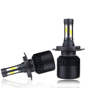 H3 H1 LED 전구 H7 H1 주도 헤드 라이트 9005 개 HB3 9006 HB4를 들어 COB 칩 6500K 화이트 라이트 9012 Hir2 H11 램프 8000LM 72W 자동 조명