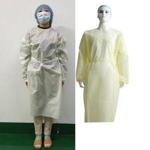 Im Lager 24h Freier DHL Einweg-Schutzkleidung wasserdichte Schutzkleidung der Malerei Dekorieren Kleidung Overall Anzug
