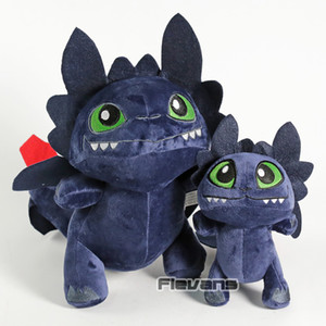 How To Train Your Dragon 3 The Hidden World Light   Night Fury Kawaii Plush Dolls Toothless Soft Stuffed Toys