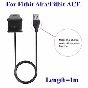 100 cm Fitbit Altta Fitbit ACE için Sıfırlama Fonksiyonu Olmadan Akıllı İzle USB Şarj Kablosu Şarj Dock Yüksek Kalite