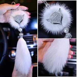 Car metal headband jewelry pendant pendant car rearview mirror jewelry creative gift