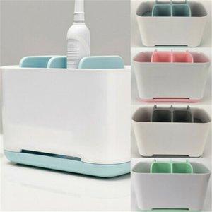 Soporte de pasta de dientes Color de cepillo de dientes eléctrico Caja de almacenamiento conveniente extraíble 2019