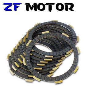 6piece Motos Acessórios Clutch disco de fricção placas Motor embreagem Placa Para CBR250 MC17 MC19 MC14 MC22 CBR250RR