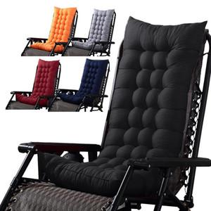 Banco al aire libre Cojín silla de jardín Cojín Almohada Banco reclinable suavemente trasero del amortiguador de la silla de oscilación del asiento reclinable Mat Suministros T200114