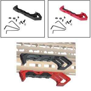 Angle métal Foregrip MOD rail d'arrêt à la main Handstop Kit M-LOK KeyMod Compatible Mont GARDEMAIN Accessoires Pour AR15 M4 M16