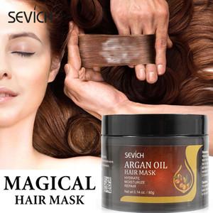 Sevich 80g Argan Yağı Saç bakım maskesi onarım keratin hasar yumuşak saç maskesi geri