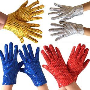 1 paire de Shining Sequin pailletée Gants Glitter Dance Party Fancy Gants Costume