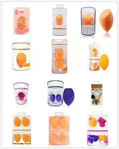 Maquiagem ovo Sponge Set Blender Foundation Beleza Blending Sponge, Flawless para líquido, creme e pó, multi-colorido Esponjas de maquiagem