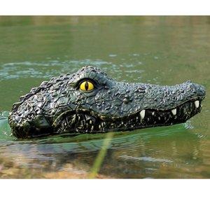 Enfants de crocodilien Bateau Remote Control Swim Piscine Voile Toy étanche rechargeable système piscine Accessoires