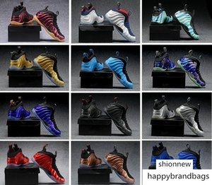Penny Hardaway Men Basketball Shoes Designers CNY Floral air Fleece Habanero Red Sequoia foams Eggplant Rust one Pink Foam Sneakers