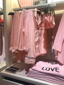 Loja em linha 2019 da textura da roupa de dormir de algodão conjunto pijama online pijama fazer compras 2,019 textura algodão dormindo roupas set