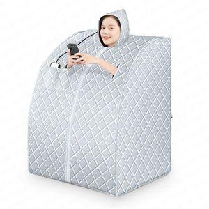 Вне Пот Пароход Single Detox Room Home Adult Body Потоотделение Сауна Box Full Moon Dry Steaming машина для взрослых Ванна