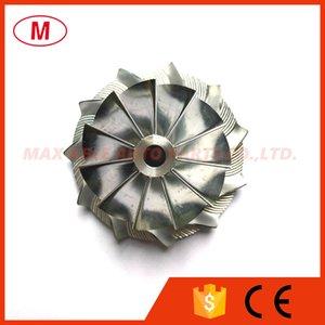 GT15-25 36,30 / 49,00 milímetros 11 + 0 lâminas de alto desempenho Turbo Billet roda do compressor / Alumínio 2618 / roda de trituração por Turbocharger Cartucho / CHRA