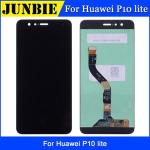 Pantalla LCD superior para Huawei P10 lite Asamblea de digitalizador inteligente Reemplazo de la pantalla táctil del teléfono móvil para pantalla P10lite