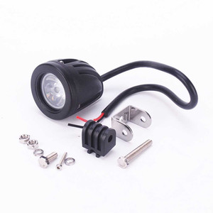 CAR 10W White T6 LED 6500K Off Road Driving Work Spot Light Lamp Round for Car SUV Truck ATvs
