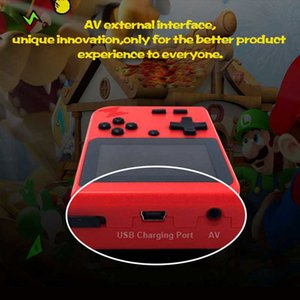 2020 New Retro Portable Mini Handheld Game Console 8-Bit 3.0 Inch Color LCD Kids Color Game Player Built-in 400 games