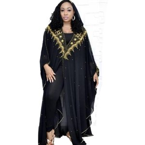 Sequin Boleroshrug Djelaba Frauen Shrugs Niqab Abaya Kimono Lange Muslim Chiffon Cardigan islamischen African Dubai Türkei Kleidung
