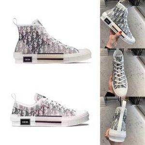 С коробкой Díor Oblique Homme X KàWS By Kìm Jones Men Women Fashion Designres Triple S роскошные повседневные туфли высокие кроссовки обувь для скейтбординга