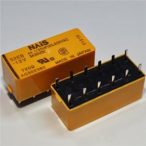 무료 배송 로트 (1pieces / 많은) 100 % 원래 새로운 S2EB-5V S2EB-12V S2EB-24V 12PINS 4A 5VDC 12VDC 24VDC 전원 릴레이