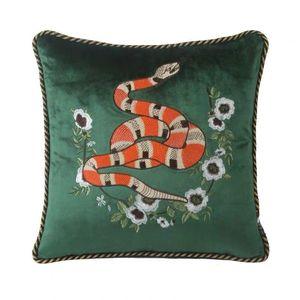 Luxus-Designer-Stickerei Schild G pillowcase Kissenbezug 45 * 45cm und 30 * 50cm Ausgangs- und Autodekoration Taille pillowcase neu kommen