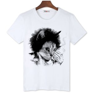 BGtomato New arrival brand fashion cat t shirt hand print cat t-shirt super fashion 3d t shirt cheap sale tee shirt homme