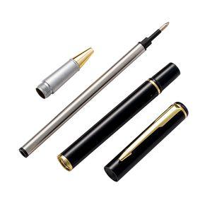 Black Metal Kalem Kırtasiye Büro İş hediyeleri Malzemeleri İmzalı Kalem Reklam Hediyeler Kalem Toptan
