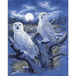 New Arrival 5D Diamond Painting Animal Birds Diamond Embroidery Full Square Moasic Cross Stitch Kits Wall Home Decoration Gift