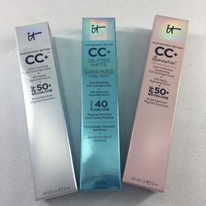 Yüz varış kaliteli! makyaj kozmetik vakıf kremler kapatıcı orta / hafif yüz astar maquillage marka fondöten