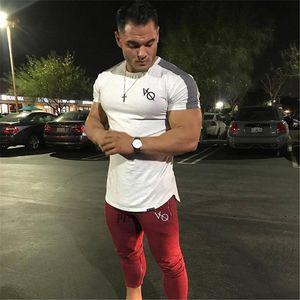 2019 gym fshirt Yeni Kas Spor Kardeşler Spor erkek T-shirt Bahar Tüm-pamuk Kısa Kollu