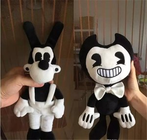 Bendy and Boris high quality Bendy and the ink machine Bendy and Boris Plush Doll Toys 50CM for Chidlren Christmas Gift