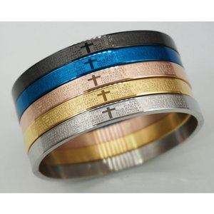 2019 new fashion Advanced titanium steel hot sale bracelet cross beautiful for women man couple bracelet wholesale