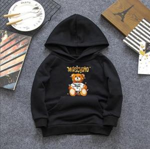 키즈 상단 아기 디자이너 소년 옷은 인쇄 패턴 아기 디자이너 여자 옷 스웨터 셔츠를 까마귀 까마귀
