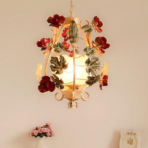 금속 펜던트 램프 어린이 조명 꽃 펜던트 D350mm 데코 램프 레스토랑 침실 1L 백인 여자 어린이 조명 매달려