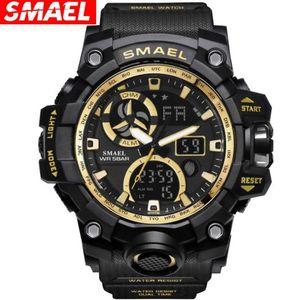 SMAEL Retroiluminación digital Reloj de pulsera Relojes militares LED 1545C