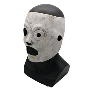 Latex Slipknot Scary Masks Halloween Latex Resin Theme Mask Movie TV Projects Performance Tools Terror Face Hood Hot Selling 58px L1