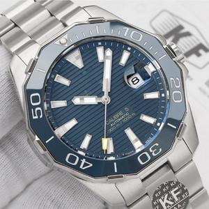 Moda Seramik çerçeve Bayan mavi lüks etiketi Bayanlar erkek tasarımcı mekanik otomatik hareketi KF saatler adam izle Saatı