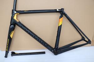 or noir cadre de route de carbone de taille de cadre de bicyclette Colnago C64 48 50 52 54 56cm BB386 frameset