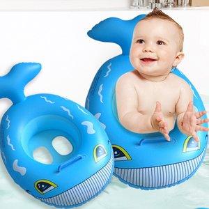 Anillo inflable del bebé Deportes de agua inflable de la piscina para los niños Círculos para Swimming Pool Party flotador Círculo Accesorios Piscina
