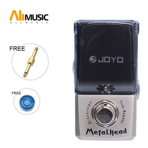 Joyo JF-315 Metal Head Distortion Effect guitar Pedal Ironman Mini Series Guitar Pedal with pedal connector and MOOER knob