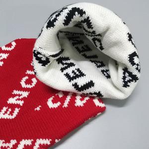 Brandneue Mode Männer und Frauen Winter gestrickte Wollhut Luxus Designer Hut B dicker warmer Hut Freies Verschiffen
