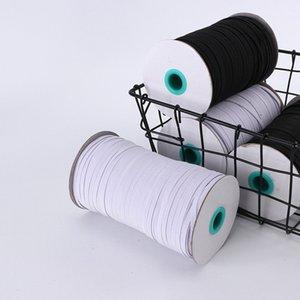 new 5mm and 3mm Elastic rope of mask ear belt elastic band polyester running belt latex flat elastic rope T2I5980